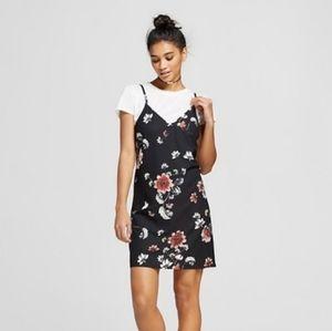 Target Floral Short Sleeved T-Shirt Dress